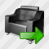 Icon Armchair Export Image