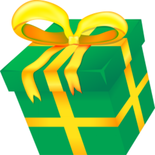 Christmas Present | Free Images at Clker.com - vector clip art ...