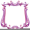 Fancy Borders Clipart Image