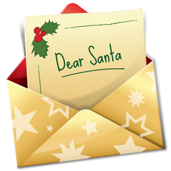 It is a picture of Versatile Christmas Letter Clipart