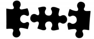 Black Puzzle Pieces Image