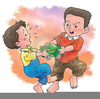 Clipart Children Fighting Over Toy Image