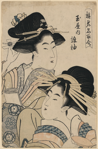 The Lady Tagasode Of Tamaya Image