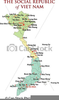 Clipart Map Of Vietnam Image