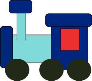 Kiddy Train Clip Art