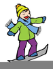 Free Snowboard Clipart Image