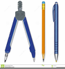 Pencil And Notebook Clipart Image
