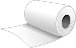 Paper Towels Roll Clip Art