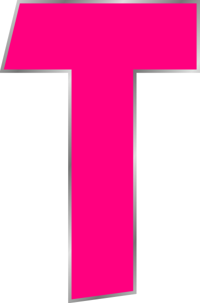 Letter T-Clip Art