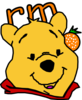 Winnie The Pooh With Orange Clip Art