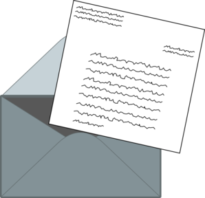 Letter Mail Clip Art at Clker.com - vector clip art online, royalty ...