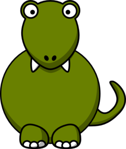 Dino No Hands Clip Art