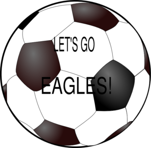 Eagles Soccer Ball Clip Art