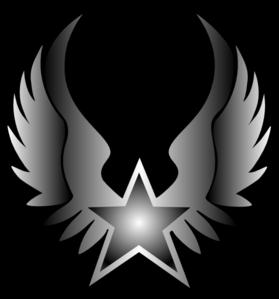 rock star black white clip art at clker com vector clip art online