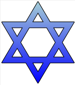 Star Of David Cutout Clip Art
