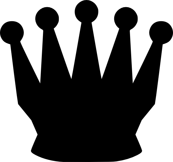 Queen Silhouette Clip Art at Clker.com - vector clip art ...