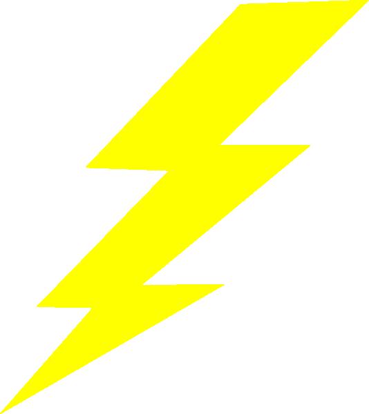 Lightningbolt Clip Art at Clker.com - vector clip art online, royalty ...