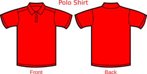 Red Shirt Clip Art