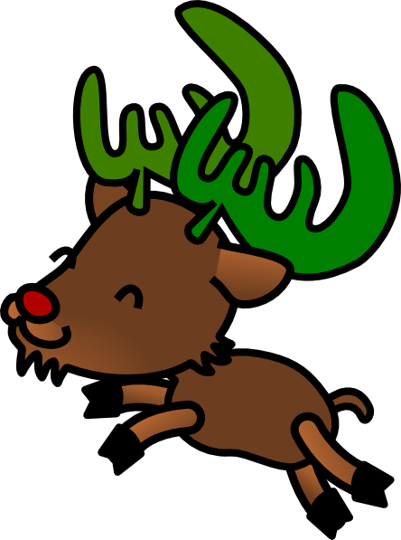 download this image as - Christmas Reindeer 2