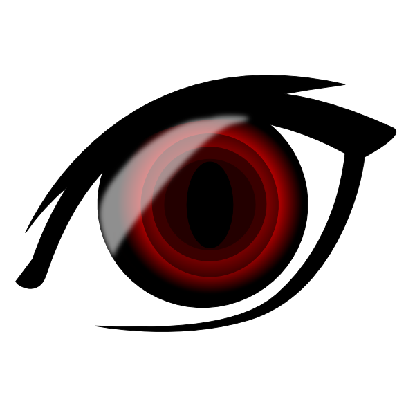 Vampire Anime Eyes Vampire Anime Eye Clip...