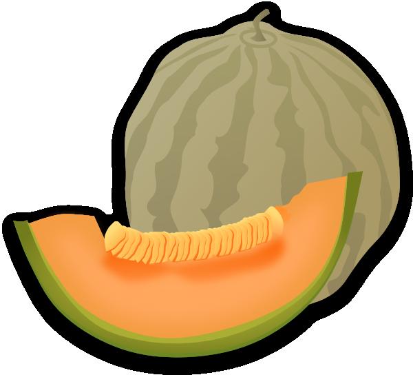 Musk Melon Clip Art at Clker.com - vector clip art online, royalty ...
