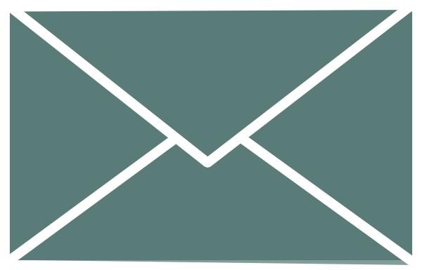White Outline Envelope Clip Art at Clker.com - vector clip art ...