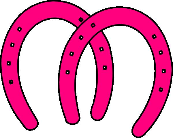Double Horeshoes Clip Art At Clker Com Vector Clip Art