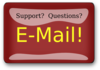 Red Rectangle Support Email Button Clip Art