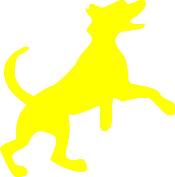 yellow dog clipart - photo #7