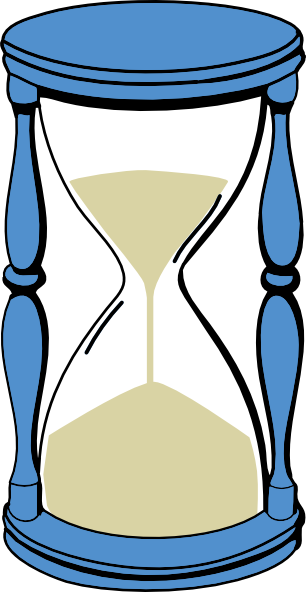 hourglass with sand clip art at clker com vector clip art online rh clker com hourglass drawing clipart hourglass drawing clipart