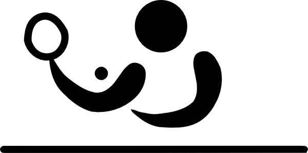 Olympic Table Tennis Logo Clip Art At Clker Com Vector Clip Art
