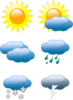 Weather For School Calendar Clip Art