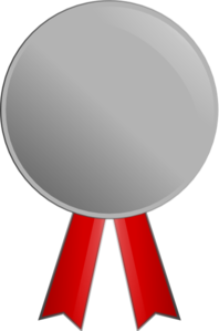 Silver Medal Clip Art at Clker.com - vector clip art ...