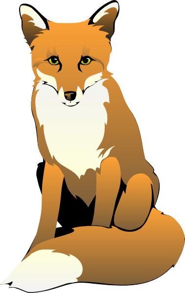 cartoon clipart of a fox - photo #2