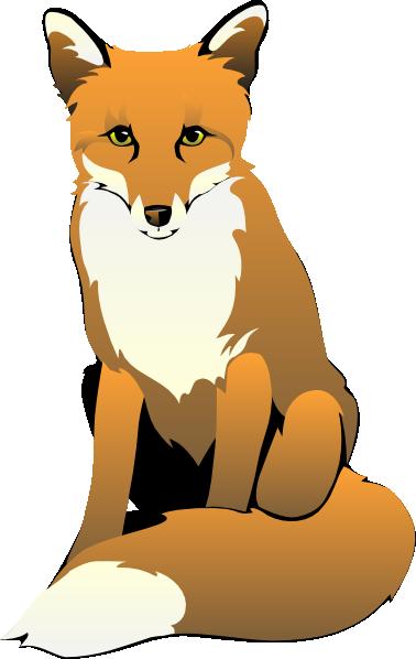 fox sitting clip art at clker com vector clip art online royalty rh clker com clip art fox hunt clip art foxes free
