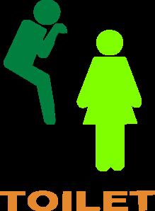 Toilet Logo Green Clip Art at Clker.com - vector clip art ...