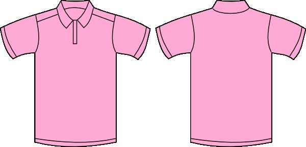 Pink Polo Shirt Clip Art At Clker Com Vector Clip Art