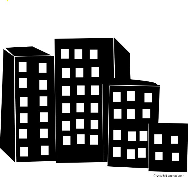 Cityskyscrapers Clip Art at Clker.com - vector clip art ...