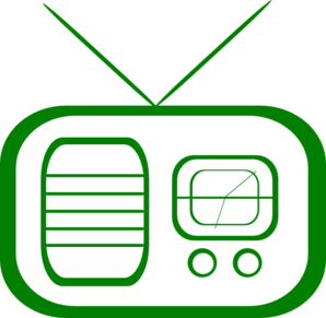 Radio Green Clip Art