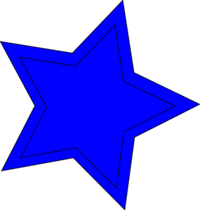 Star Double Blue Clip Art at Clker.com - vector clip art ...