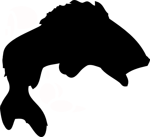 Black Fish Clip Art at Clker.com - vector clip art online, royalty ...
