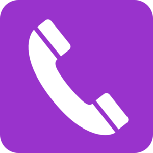 Phone Purple  Clip Art