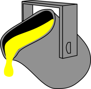 Paint Yellow Bucket Clip Art