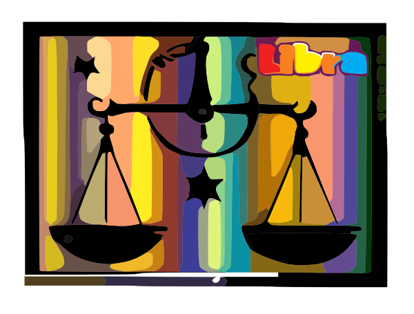 Libra Of The Zodiac Clip Art at Clker.com - vector clip art online ...
