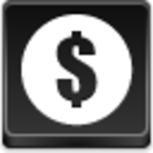 Dollar Coin Icon Image