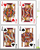 Jacks Cards Clipart Image