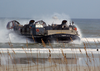 A Landing Craft Air Cushion (lcac) Comes Ashore At Jacksonville Beach, Fla. During An Amphibious Assault Demonstration At The 2003 Jacksonville Sea And Sky Spectacular Image