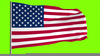 Veterans Day Flags Clipart Image