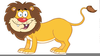 Lion King Animated Clipart Image