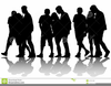 Free Clipart Crowds Of People Image